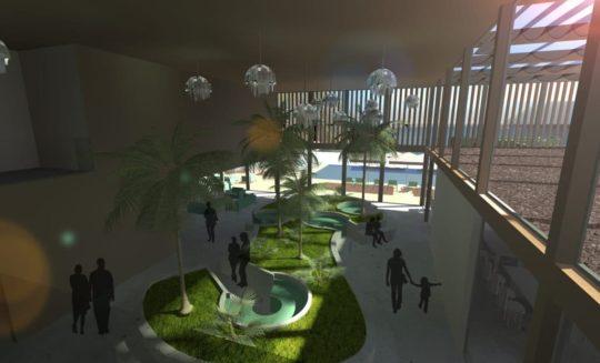 Projet Manapany vue intérieur