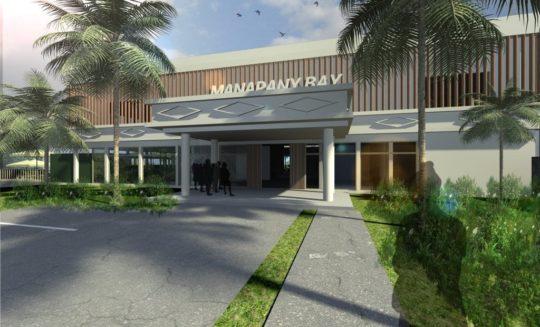 Projet Manapany vue extérieur