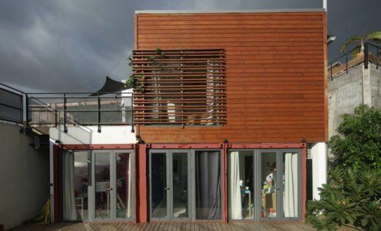 Projet Case 1 vue façade