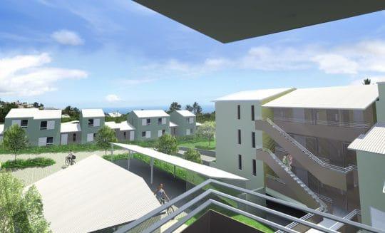 Vue du projet Maloya