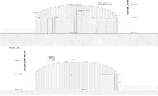 Projet Pierrefonds Hangar