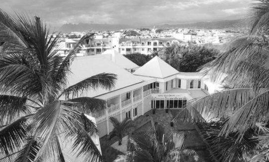 Projet Villa Delisle noir et blanc