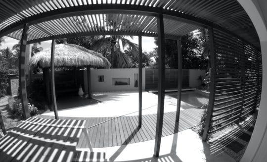 Projet Paradise en noir et blanc