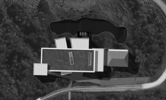 Projet Dlodges et Spa en noir et blanc