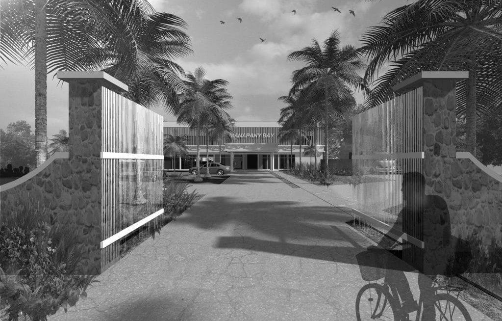 Projet Manapany noir et blanc