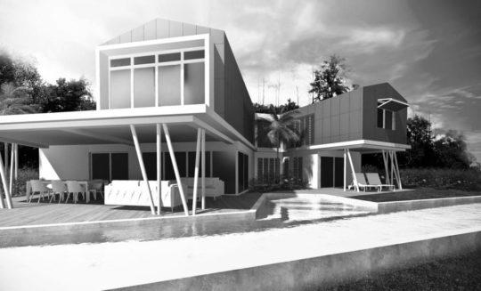 Projet case 1Z en noir et blanc