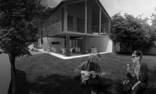 Projet Case 15 en noir et blanc